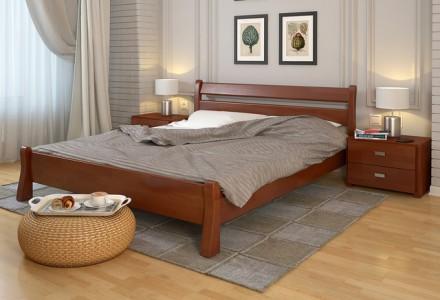 Кровать деревянная Венеция из натурального дерева.. Чернигов. фото 1