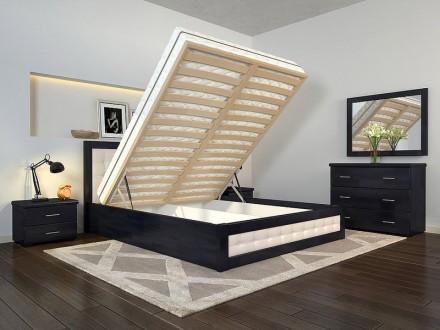 Кровать деревянная с подъемным механизмом Рената Д. Чернигов. фото 1