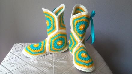 Продам женские тапочки -сапожки. Харьков. фото 1