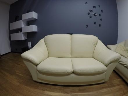 Эстонский кожаный диван. Одесса. фото 1