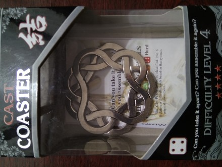 Головоломка cast coaster. Днепр. фото 1