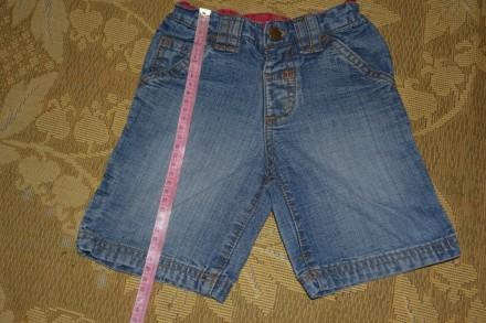 Джинсовые бриджи шорты. Кривой Рог. фото 1