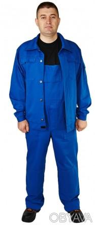 Костюм рабочий демисезонный, костюм с плотной ткани