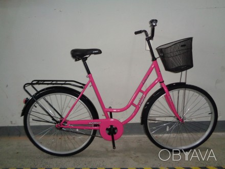 Велосипед с женской рамой Салют Retro 28
