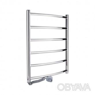 Полотенцесушитель электрический Q-tap Classic (CRM) P6 500х600 LE
