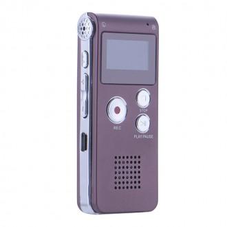 QC-09 Профессиональный цифровой мини диктофон 8Гб встроенной памяти. Киев. фото 1