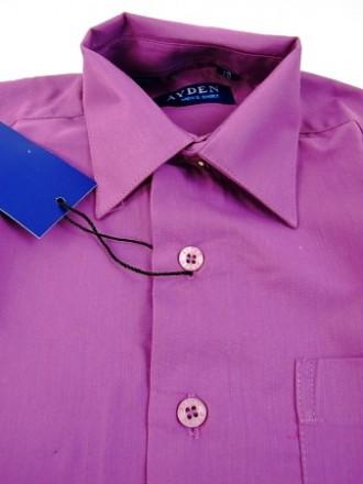 36 размер. Рубашка насыщенного фиолетового цвета. Энергодар. фото 1