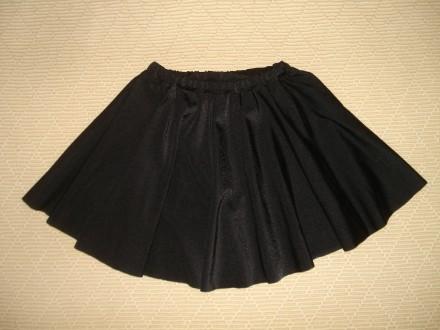 Юбка для танцев на девочку 2-4 года Цвет - чёрный. Одевали 1 раз на выступлени. Херсон, Херсонская область. фото 2