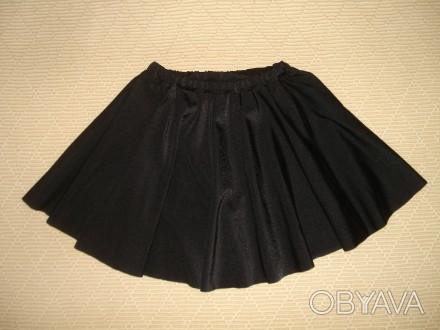 Юбка для танцев на девочку 2-4 года Цвет - чёрный. Одевали 1 раз на выступлени. Херсон, Херсонская область. фото 1