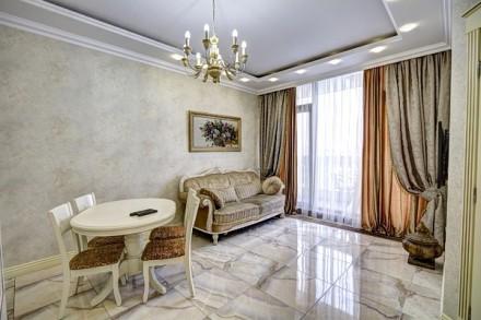 Шикарная 2-комнатная квартира, центр, новый элитный дом.. Одесса. фото 1