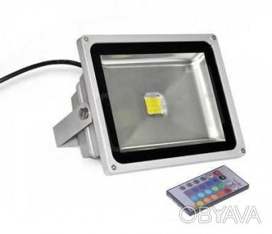 Прожектор светодиодный Lemanso 30w LMP 30, RGB Цвет, серый Напряжение, АС 100-. Киев, Киевская область. фото 1