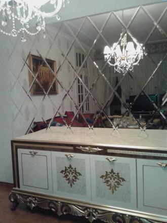 Зеркальная плитка. Киев. фото 1