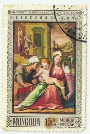 Macchietti madonna and child with st. anne Юнескийн 20 жила Монgolia. Одесса, Одесская область. фото 1