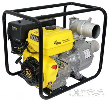Мотопомпа бензиновая Кентавр КБМ 100 П (13 л.с.) (100 куб.м./час)