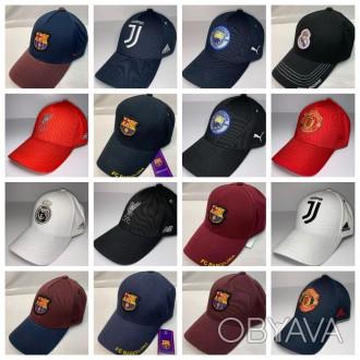 Спортивная бейсболка, футбольных клубов, сборных, автомобилей, спортивные бренды
