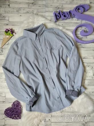 Рубашка Tom Tailor женская голубая