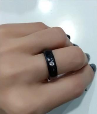 Абсолютно новый ювелирный набор керамический:серьги (англ. застежка),  кольцо (1. Хмельницкий, Хмельницкая область. фото 7