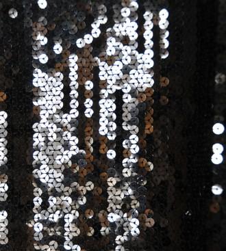 Маленькое чёрное платье c мерцающими пайетками на закрытой подкладке Santa Alian. Харьков, Харьковская область. фото 6