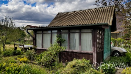 Продам участок с небольшим домиком для хорошего летнего/осеннего времяпрепровожд. Хотяновка, Киевская область. фото 1