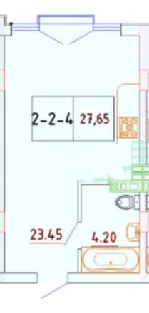 Продам квартиру в современном малоквартирном  доме,  оборудованные бесшумными  л. Суворовский, Одесса, Одесская область. фото 3