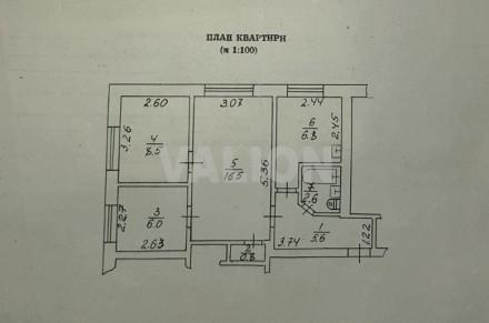 Продам 3 ком. квартиру в Борисполе. Этаж 1, всего этажей 2. Общая площадь 46.8. Борисполь, Борисполь, Киевская область. фото 10