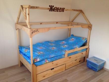 Изготовлю кровать домик. Днепр. фото 1