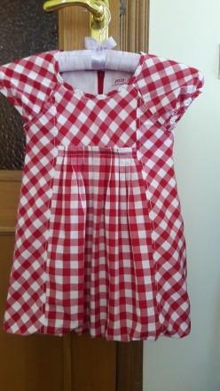 Фирменное платье на девочку 104-110см в отличном состоянии. Київ. фото 1