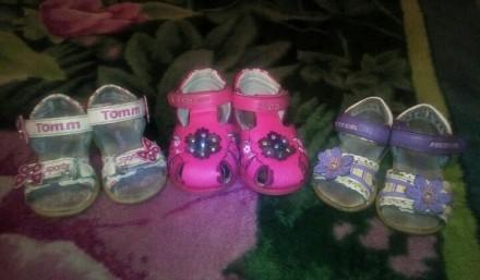 Обувь для девочки. Марганец. фото 1