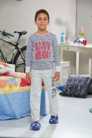 Пижамка Sevim (Zey Zey) на мальчика в полоску. Sevim.in.ua. Одесса. фото 1