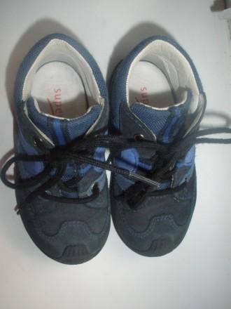 Кожаные ботинки (кроссовки) Super Fit 21р (14см по стельке). Чернигов. фото 1
