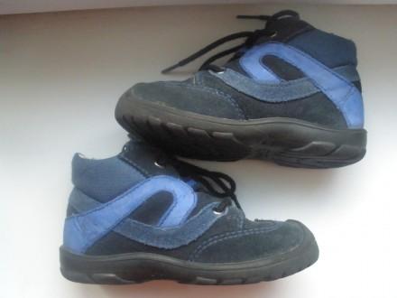 Продам ботинки фирмы Super Fit на мальчика в отличном состоянии. Ботинки полност. Чернигов, Черниговская область. фото 4