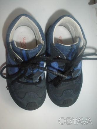 Продам ботинки фирмы Super Fit на мальчика в отличном состоянии. Ботинки полност. Чернигов, Черниговская область. фото 1
