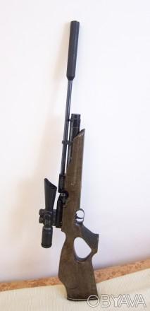 винтовка PCP Weihrauch HW 100 TK 4,5мм в идеальном состоянии.  Страна происхож. Луганск, Луганская область. фото 1