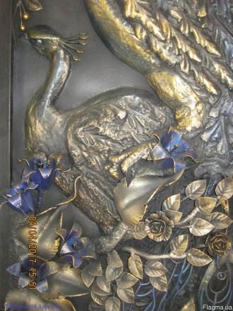 Кованное панно. Киев. фото 1
