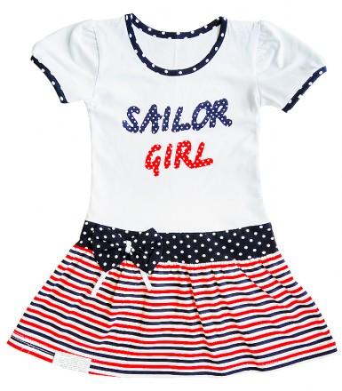 Платье для девочки Яна. Горишные Плавни. фото 1
