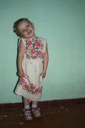 Платье в народном стиле. Киев. фото 1