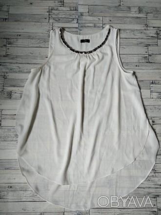 Блузка женская F&F белая свободная