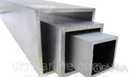 Алюминиевая труба квадратная 35x35x2 мм АД31 (алюминиевый профиль) купить, цена.