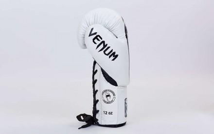 VENUM GIANT Боксерские кожаные перчатки Размер: 10-12 унций (есть еще 14 но то. Одесса, Одесская область. фото 4