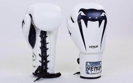 VENUM GIANT Боксерские кожаные перчатки Размер: 10-12 унций (есть еще 14 но то. Одесса, Одесская область. фото 2