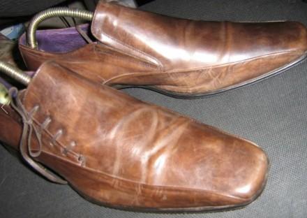 Продам туфли из натуральной кожи. Запорожье. фото 1