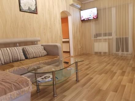 Хорошая квартира с современным ремонтом. Находится в двух шагах от Дерибасовской. Одесса, Одесская область. фото 4