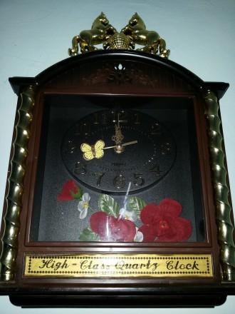 Часы настенные на батарейки .. Херсон, Херсонская область. фото 2