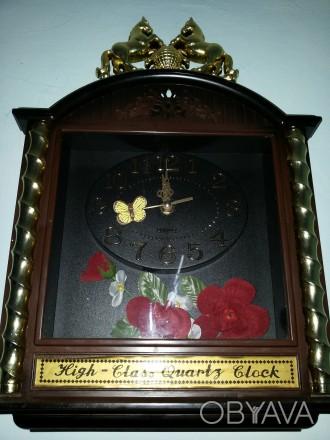 Часы настенные на батарейки .. Херсон, Херсонская область. фото 1