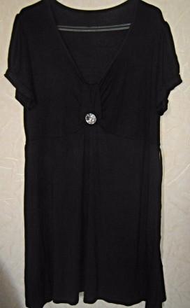 Платье-туника 100% вискоза большого р-ра.. Светловодск. фото 1