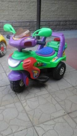 Продам трехколесный мотоцикл на аккумуляторе. Днепр. фото 1