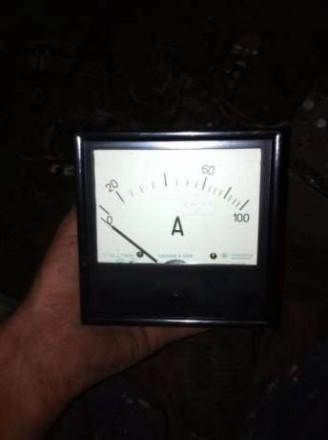Амперметр на 100 ампер. Херсон. фото 1