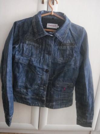Джинсовая куртка Terranova р.S. Ирпень. фото 1