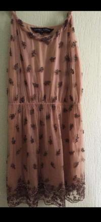 Модное красивое платье вышитое бисером от английского бренда New Look. Киев. фото 1