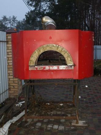 Пиццерийная печь на дровах б\у. Киев. фото 1